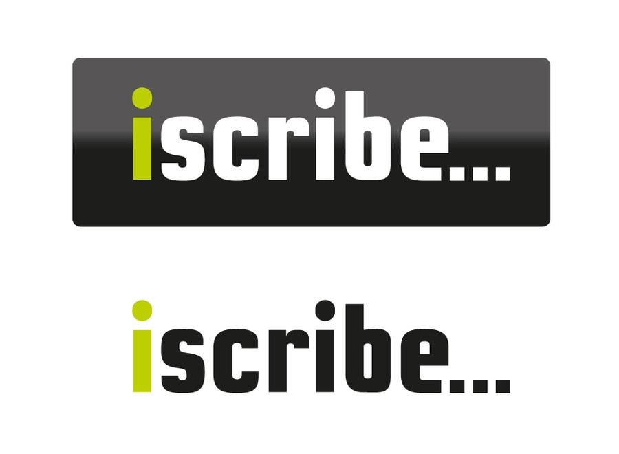 Inscrição nº 28 do Concurso para Logo Design for iScribe