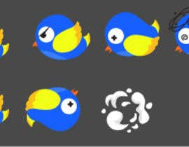 #6 for Flat Bird SpriteSheet for my game by pandenurdiana