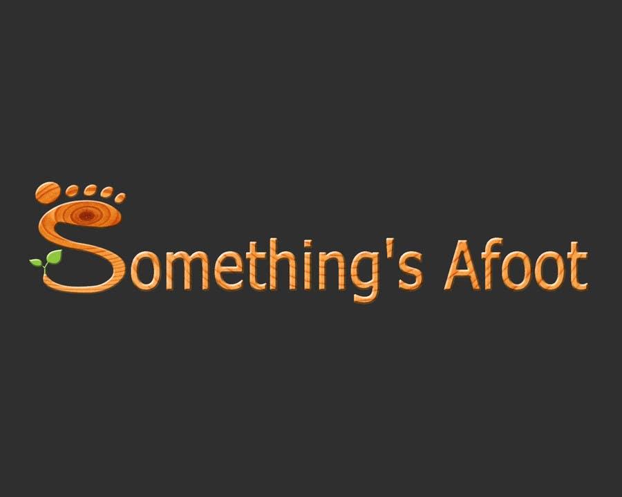 Konkurrenceindlæg #                                        18                                      for                                         Design a Logo for Somethings Afoot
