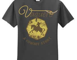 nº 16 pour Design a T-Shirt for Vaquero clothing par marioseru