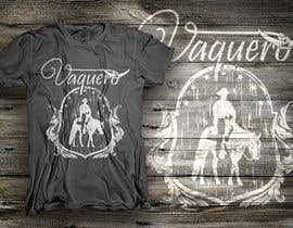 nº 25 pour Design a T-Shirt for Vaquero clothing par dsgrapiko