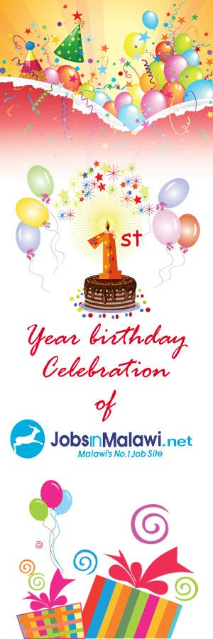 Konkurrenceindlæg #                                        21                                      for                                         HAPPY BIRTHDAY JOBSINMALAWI.NET