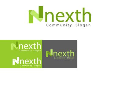 #11 cho Logo Design for nexth bởi creativeartist06