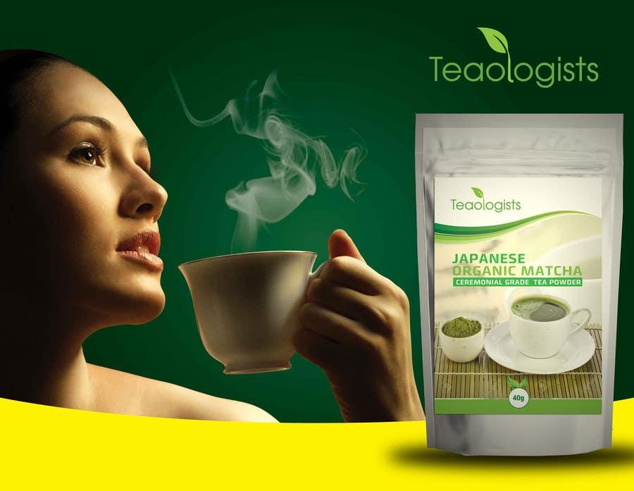 Penyertaan Peraduan #23 untuk Create Packaging Design for Matcha Tea Product
