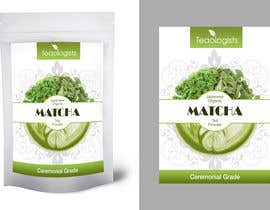 #28 for Create Packaging Design for Matcha Tea Product by Obscurus