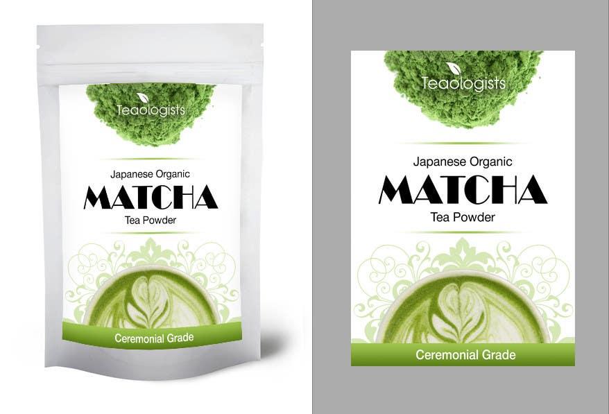 Penyertaan Peraduan #29 untuk Create Packaging Design for Matcha Tea Product