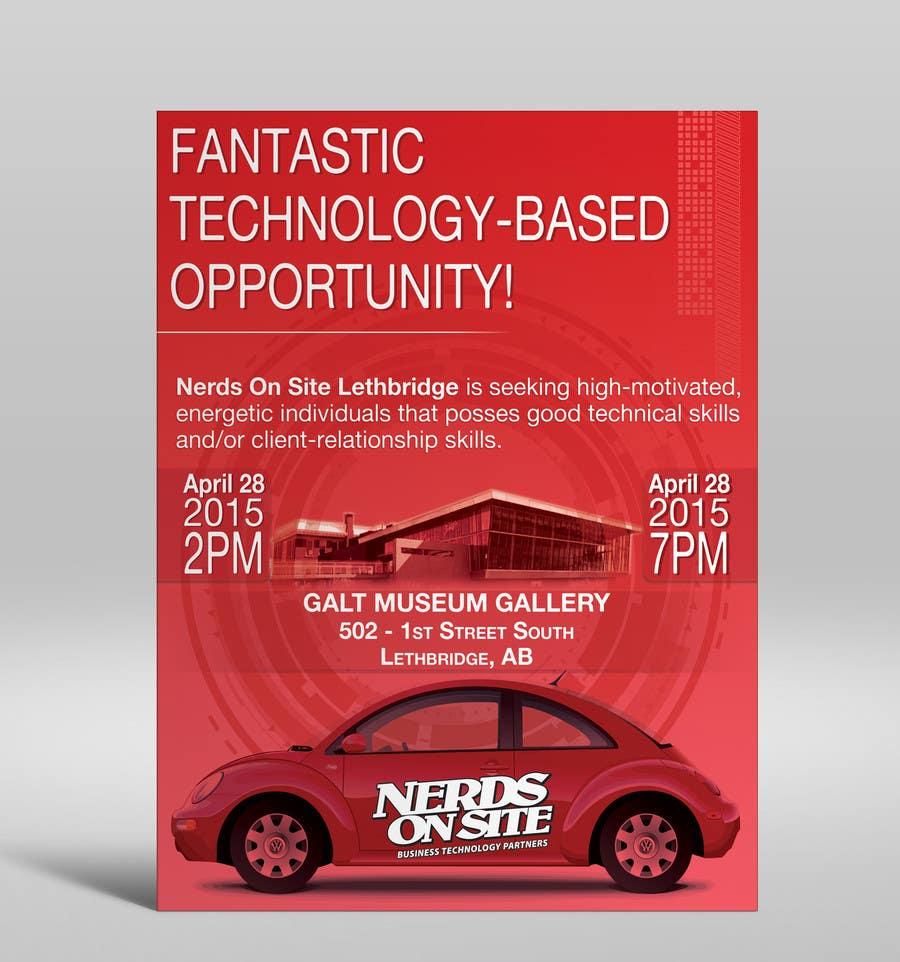 Konkurrenceindlæg #                                        35                                      for                                         Design a Flyer for a Job Fair
