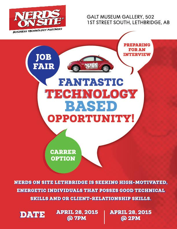 Konkurrenceindlæg #                                        54                                      for                                         Design a Flyer for a Job Fair