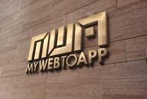 Design a Logo for a webpage mywebtoapp.com için Graphic Design56 No.lu Yarışma Girdisi
