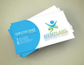 #71 for Design some Business Cards for Memplans by Dalii