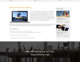 #2 untuk Design a Website Mockup for Civil Engineer - Technical company oleh webidea12