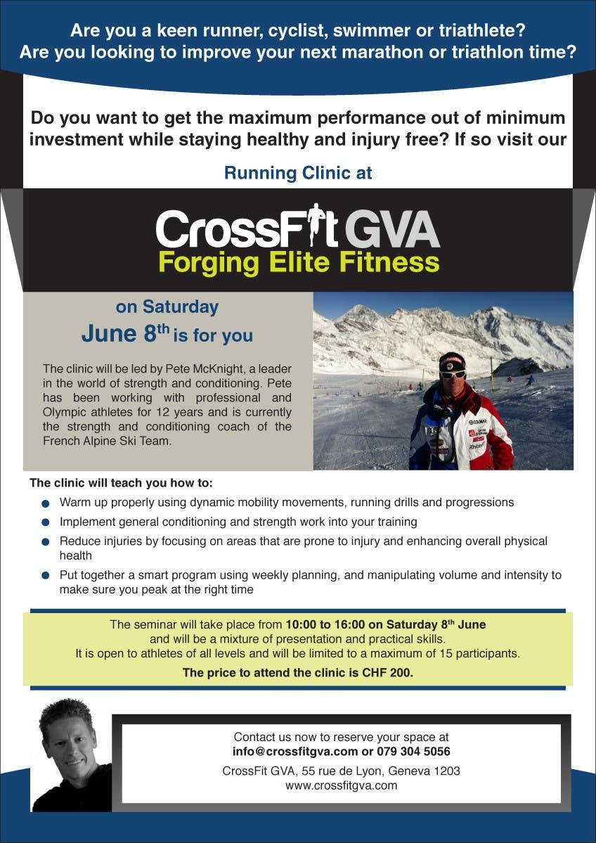 Inscrição nº                                         2                                      do Concurso para                                         Advertisement Design for Running Clinic