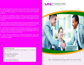#10 for Design a Single Fold Brochure for M2K Consulting by mbhattacharyya70