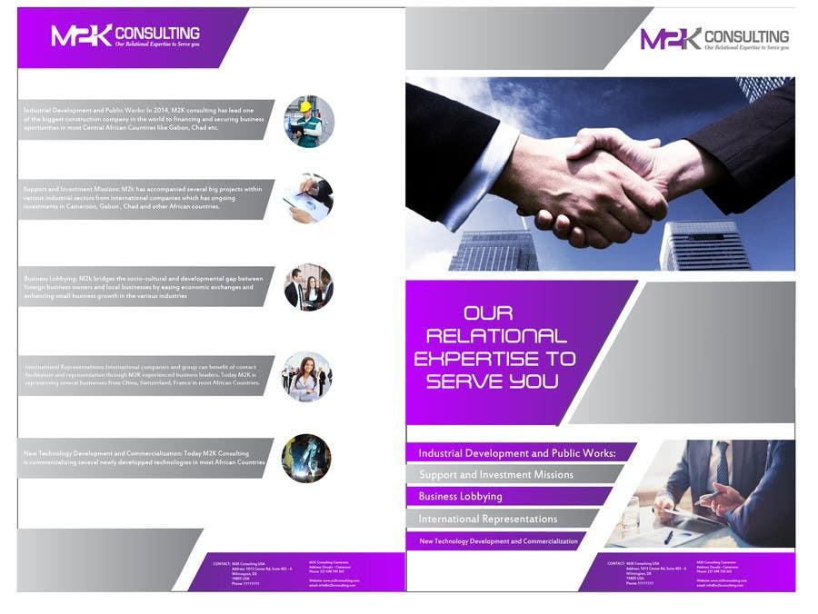 Konkurrenceindlæg #20 for Design a Single Fold Brochure for M2K Consulting