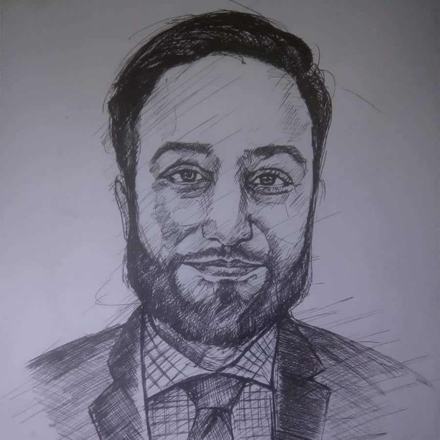 "Intrarea #                                        65                                      pentru concursul ""                                        Ink Portrait Sketch (One Billable Hour @ $30/hour) (Ongoing Opportunity)                                     """