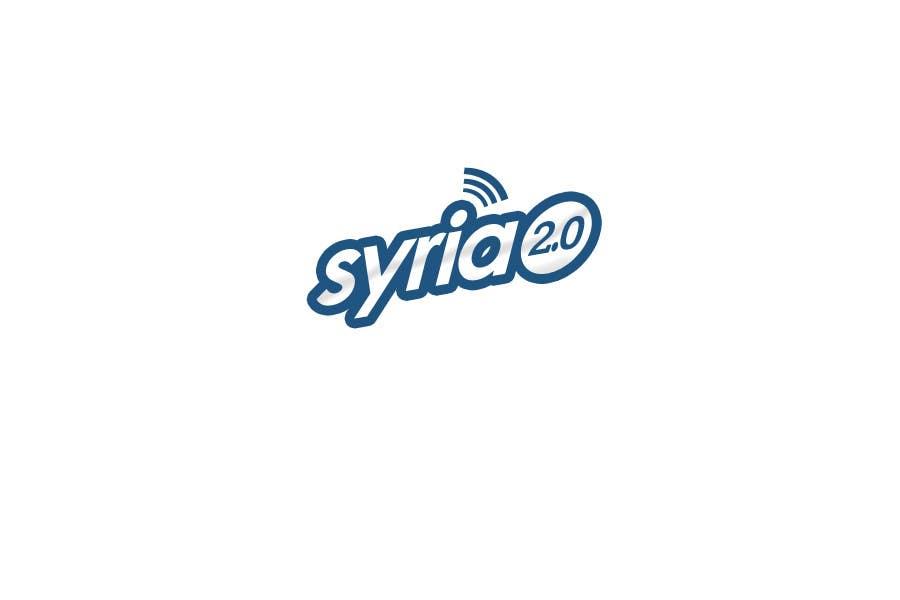 Penyertaan Peraduan #                                        82                                      untuk                                         Logo Design for Syria 2.0