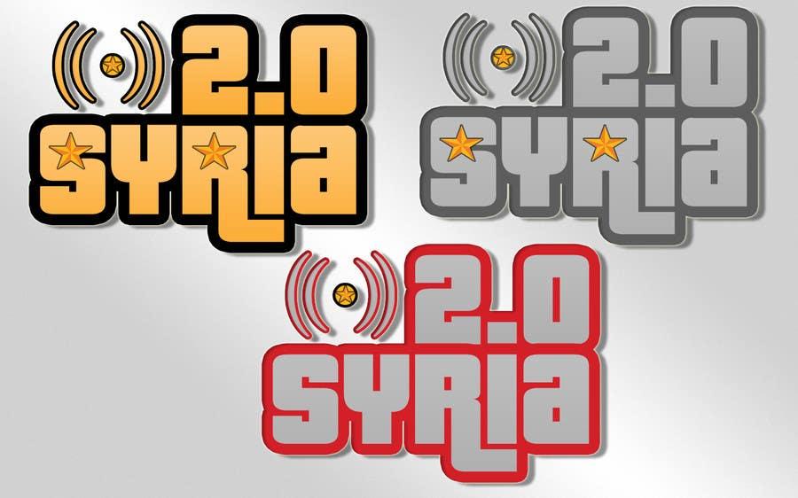 Penyertaan Peraduan #                                        76                                      untuk                                         Logo Design for Syria 2.0