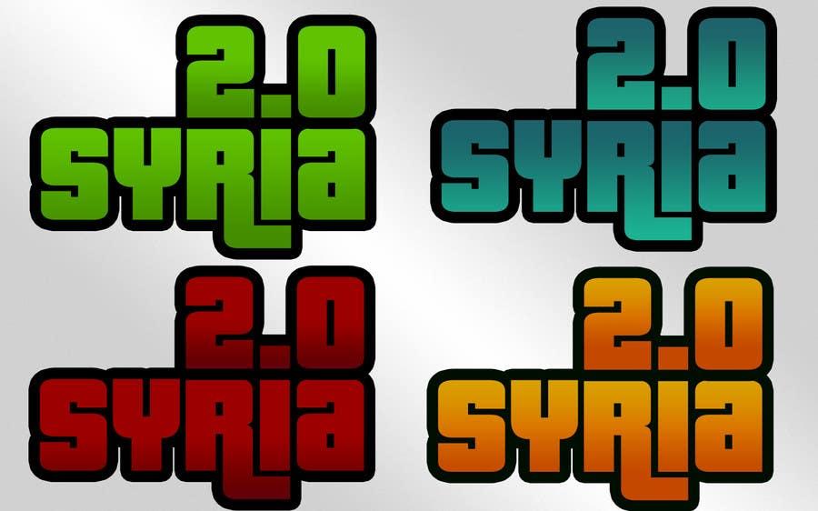 Penyertaan Peraduan #                                        99                                      untuk                                         Logo Design for Syria 2.0
