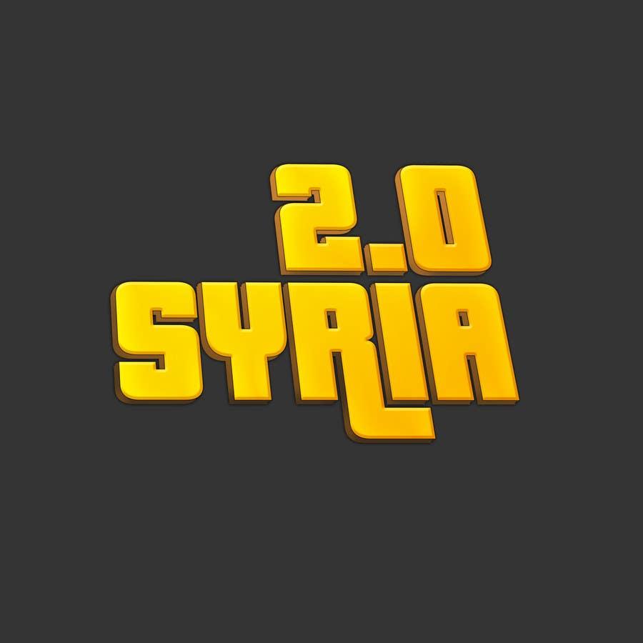 Penyertaan Peraduan #                                        105                                      untuk                                         Logo Design for Syria 2.0