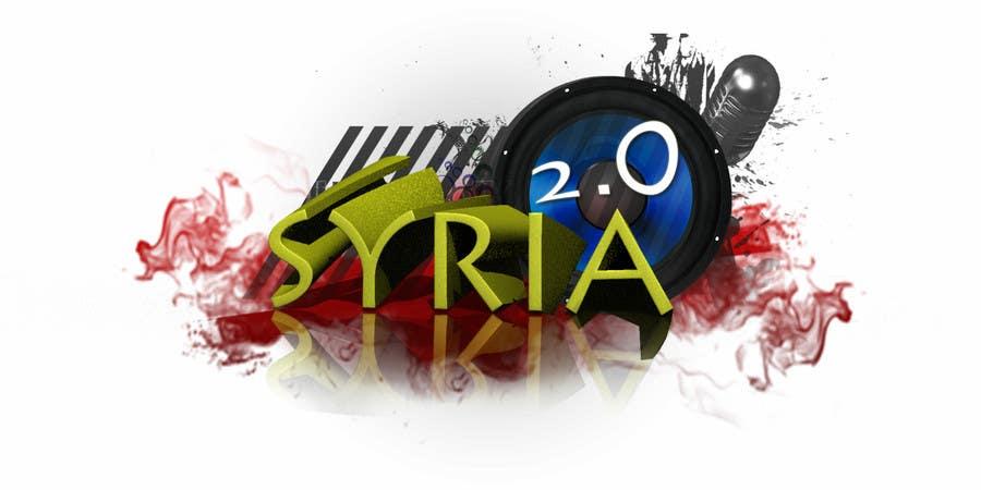 Penyertaan Peraduan #                                        58                                      untuk                                         Logo Design for Syria 2.0