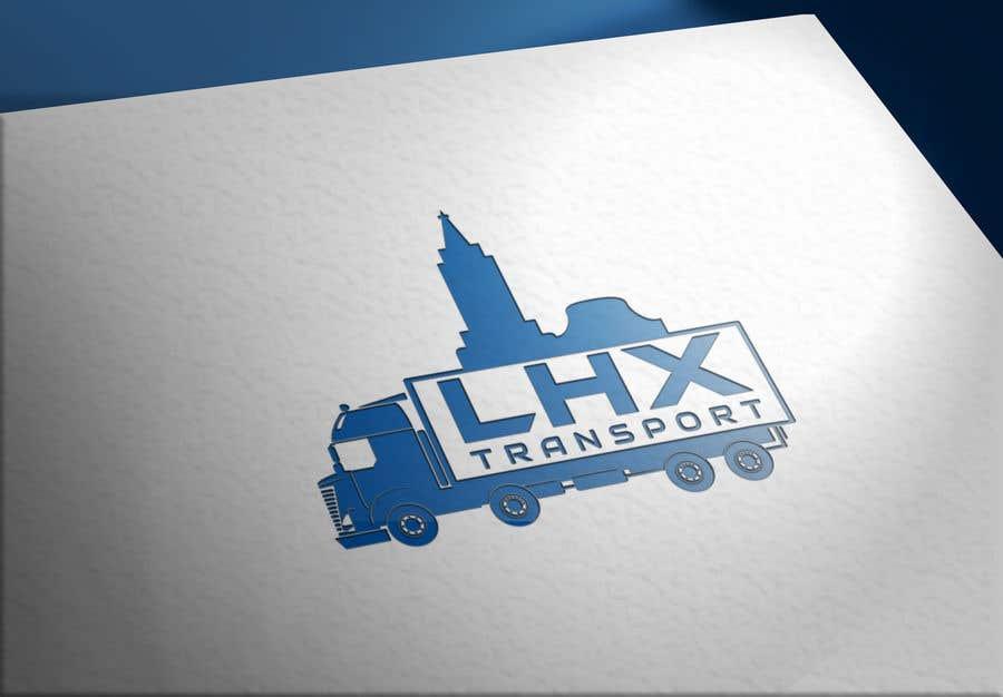 Proposition n°                                        44                                      du concours                                         logo entreprise de transport
