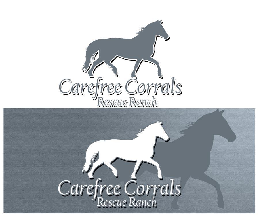 Inscrição nº 30 do Concurso para Logo Design for Carefree Corrals, a non-profit horse rescue.