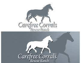 #30 para Logo Design for Carefree Corrals, a non-profit horse rescue. por photogra