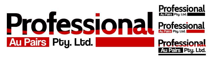 Kilpailutyö #131 kilpailussa Logo Design for Professional Au Pairs Pty Ltd