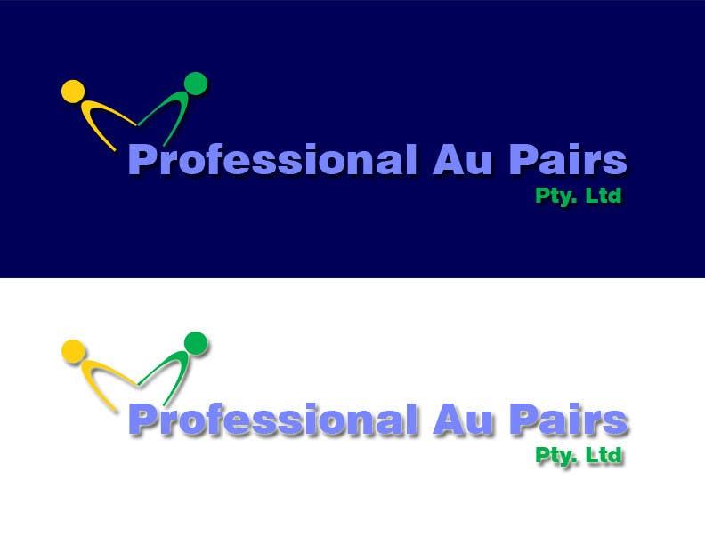 Kilpailutyö #100 kilpailussa Logo Design for Professional Au Pairs Pty Ltd