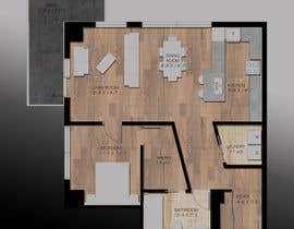 #33 for Floor plan/interior ideas for sub-penthouse condo (1000sq feet) by polydesign13