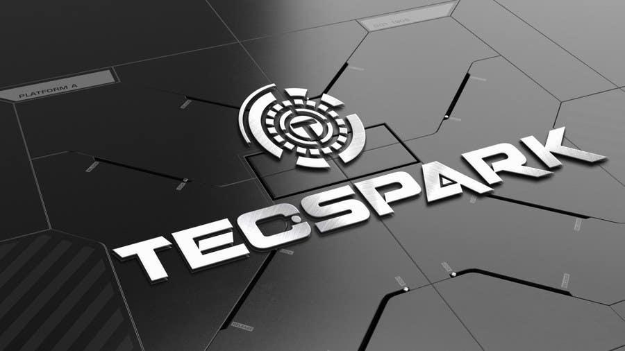 Konkurrenceindlæg #                                        122                                      for                                         TECSPARK Corporate Identity