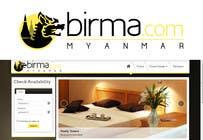Graphic Design Konkurrenceindlæg #120 for Logo design for a travel website about Burma (Myanmar)