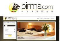 Graphic Design Konkurrenceindlæg #160 for Logo design for a travel website about Burma (Myanmar)