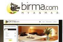 Graphic Design Konkurrenceindlæg #190 for Logo design for a travel website about Burma (Myanmar)