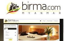 Graphic Design Konkurrenceindlæg #196 for Logo design for a travel website about Burma (Myanmar)