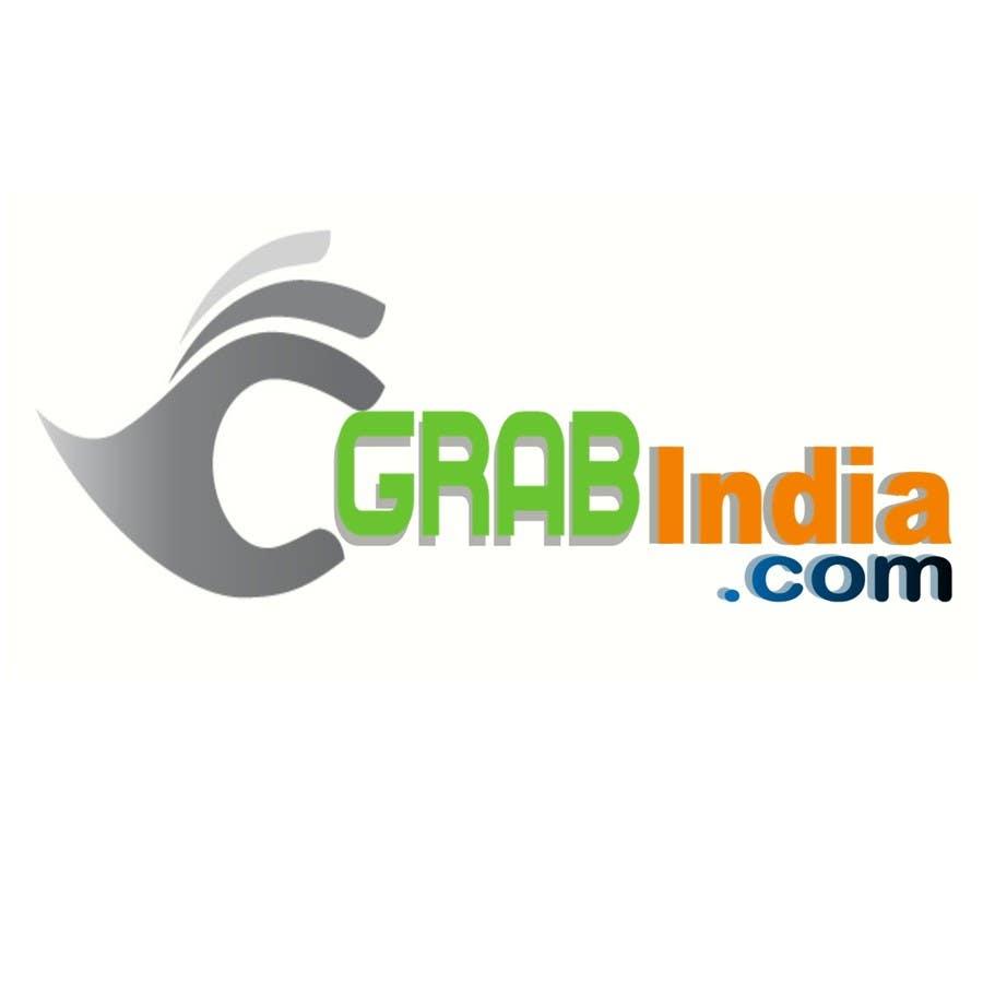 Konkurrenceindlæg #                                        35                                      for                                         Design a Logo for GrabIndia.com