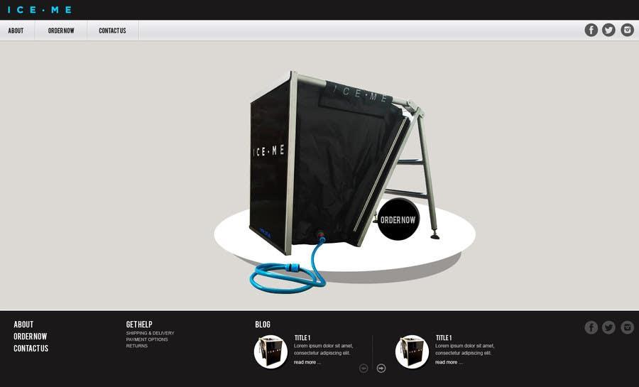 Proposition n°                                        21                                      du concours                                         Design Website based on Nike Homepage - Easy!