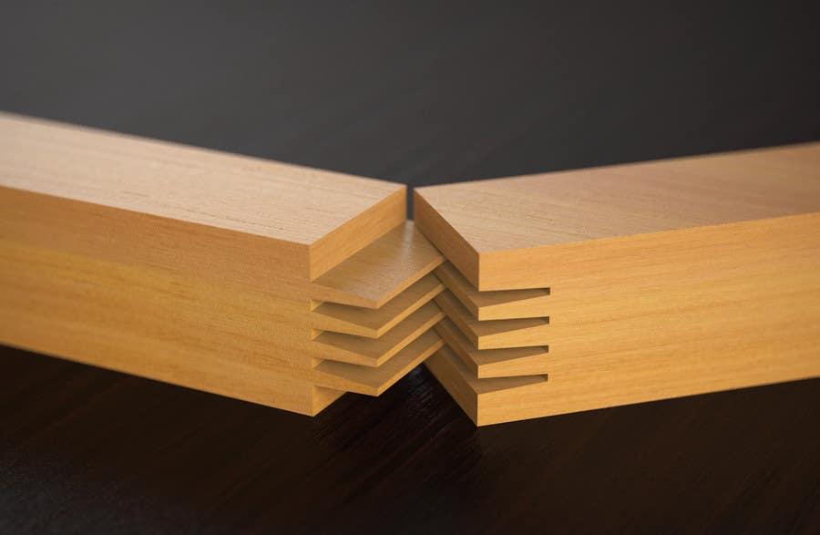 Konkurrenceindlæg #                                        23                                      for                                         Realistic 3D modelling - Sawed Wood profiles