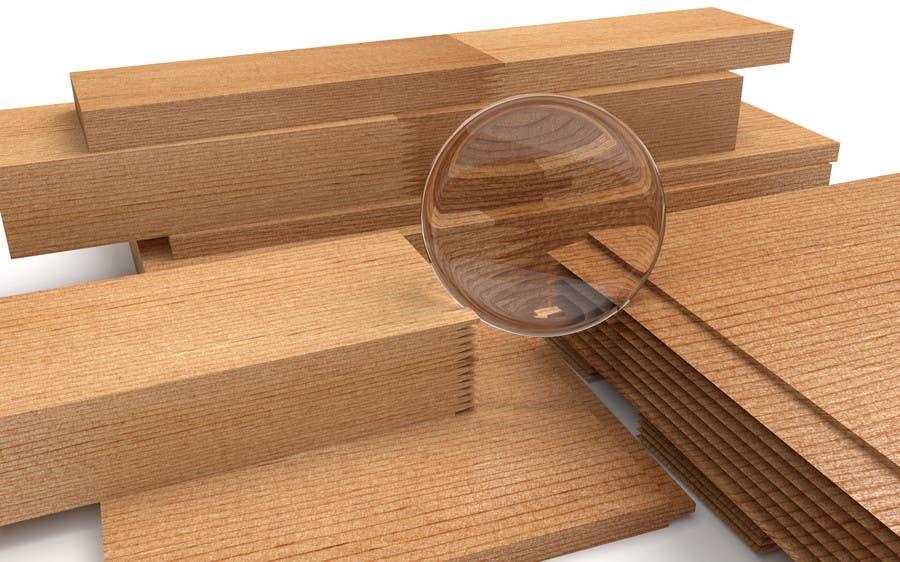 Konkurrenceindlæg #                                        60                                      for                                         Realistic 3D modelling - Sawed Wood profiles