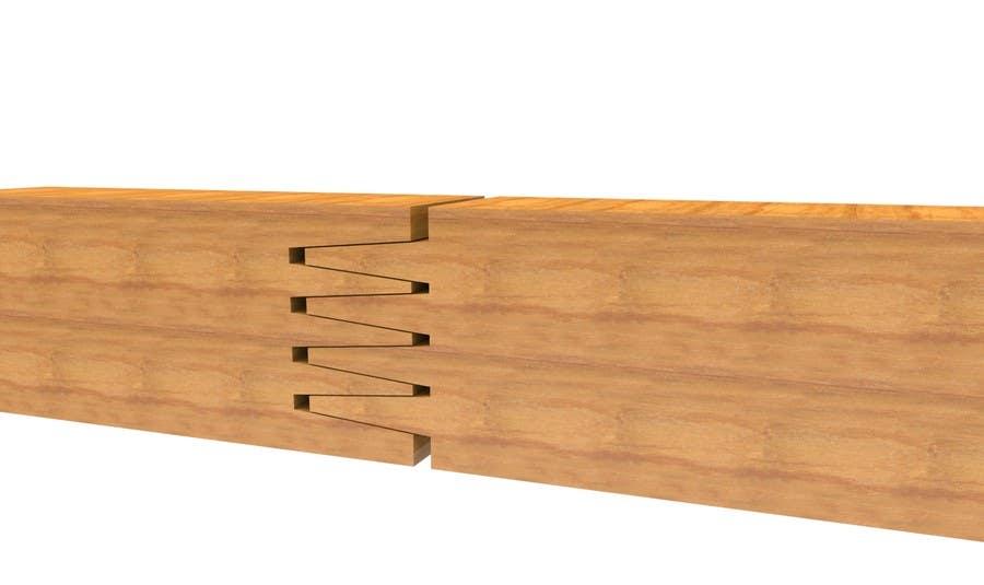 Konkurrenceindlæg #                                        9                                      for                                         Realistic 3D modelling - Sawed Wood profiles