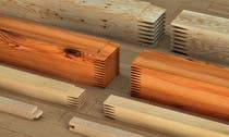 3D Rendering Konkurrenceindlæg #80 for Realistic 3D modelling - Sawed Wood profiles