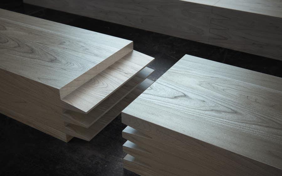 Konkurrenceindlæg #47 for Realistic 3D modelling - Sawed Wood profiles