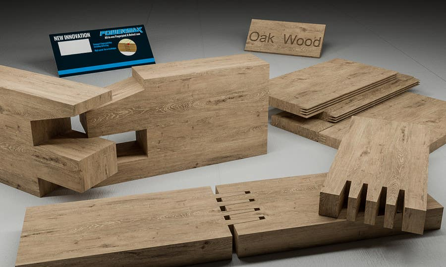 Konkurrenceindlæg #                                        66                                      for                                         Realistic 3D modelling - Sawed Wood profiles