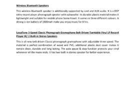 saratheeservices tarafından Write a description for products on shopify için no 4