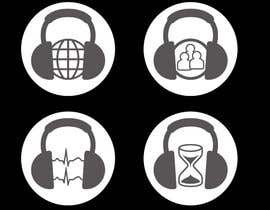 #15 untuk Design some Icons for music collaboration website oleh marija01