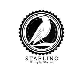 #103 untuk Redesign the logo for Starling winter hats company. oleh HagerAlaa