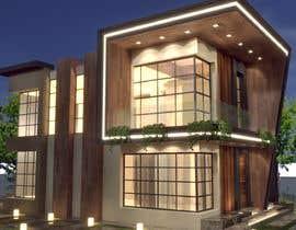 #44 para Exterior Design for a house por meshofreelancer