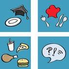 Graphic Design Inscrição do Concurso Nº22 para Icons for food website
