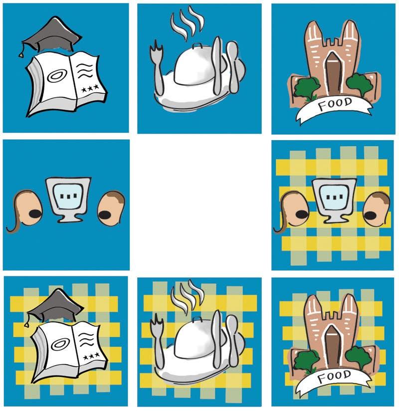 Конкурсная заявка №34 для Icons for food website