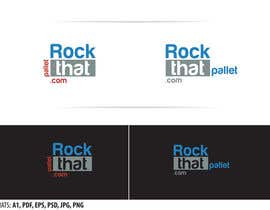 Nro 34 kilpailuun Design a Logo for Rockthatpallet.com käyttäjältä oldestsebi